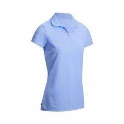 Ladies Cotton Plain T Shirt, Size: XXL