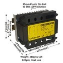 50 AMP 3 PHASE UNIVERSAL TO AC SSR