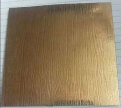Bronze Stainless Steel Sheet