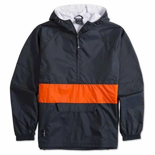 235aadd6d Hooded Windbreaker Jacket