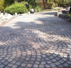 Cobble Stone Pavers for Pathways