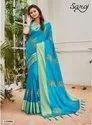 Royal Fancy Designer Sana Silk Patta Saree