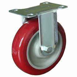 IV52-FX-75-R PVC Caster Wheel