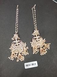 Pearl Kundan Designer Ethnic Traditional Antique Earrings