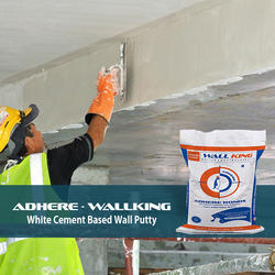 Adhere White Wall Putty, Packaging Size: 20 Kg, Packaging Type: Packet