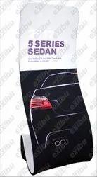 EXIBU Snake Fabric Banner Stand