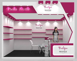 Graphic Design Exhibition Stand Fabrication Service, worldwide