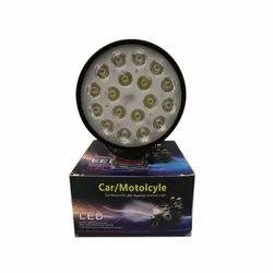 18 LED Round Headlight