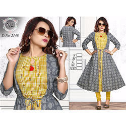 Printed Casual Ladies Kurti