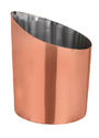 Plain Chip Cup Cross Cut Copper Coated