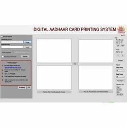 Smart Aadhaar Card Printing Software