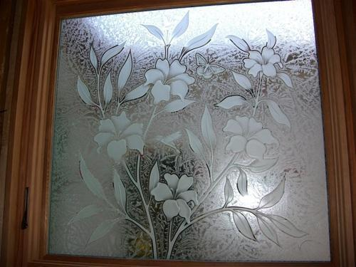 SAINT GOBAIN and AIS Natural and Transparent Etched Glass