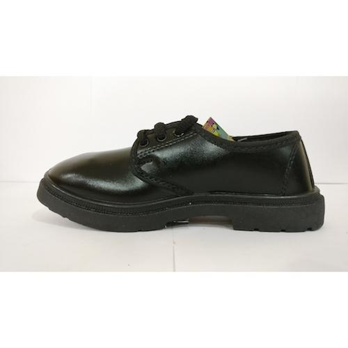 Black PVC School Shoes
