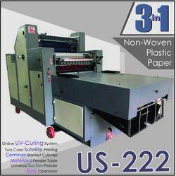 2 Color Plastic Printing Machine