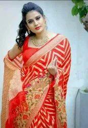 Banarasi Semi Georgette Silk Sarees
