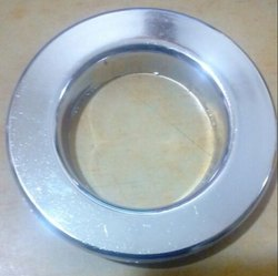 Chrome Jumbo Flat Eyelet Ring with Washer
