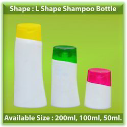 L Shape Shampoo Bottle