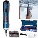 3.6 V Bosch Cordless Screwdriver Kit, Lithium Ion, 360 Rpm