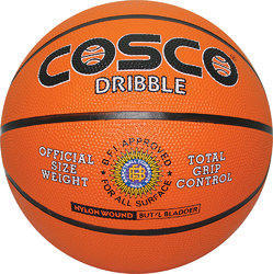 Cosco Orange Basket Ball, Size: 5-7 , For Industrial