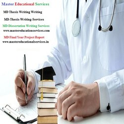 Mumbai MD Thesis Writing Services