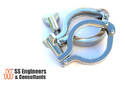 SS Tri Clover Clamps