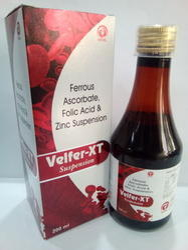 Ferrous Ascorbate, Folic Acid & Zinc
