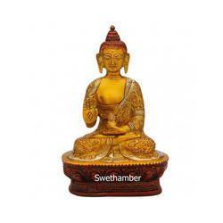 Blessing Brass Buddha