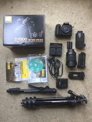 Nikon D7000 Dslr Camera With 18 105 Lens And Extra Accessori