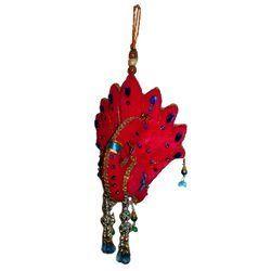 Cloth Peacock Hanging