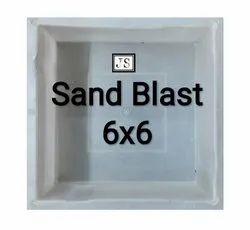 Sand Blast Silicone Plastic Paver Mould