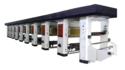 5 Color Rotogravure Printing Making Machine