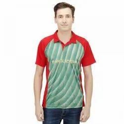Red Printed Cricket Uniform