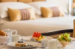Complimentary Breakfast Room Rent Service