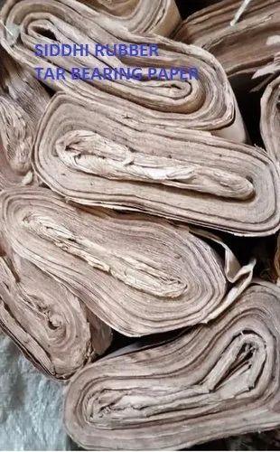 Tar Bearing Paper