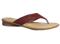 Brown Women Comfit Flat Chappals For , Size: 3, 4, 5, 6, 7, 8