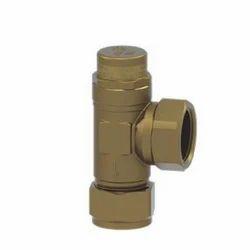 Brass Junction Water Flow Control Valve