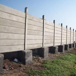 7 Feet Cement Compound Wall