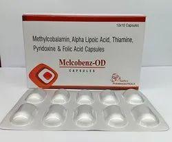 Methylcobalamin, Alpha Lipoic and B-complex Capsules
