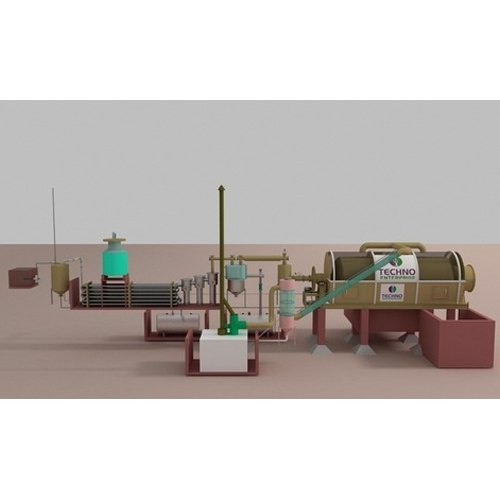 Waste Pyrolysis Plant
