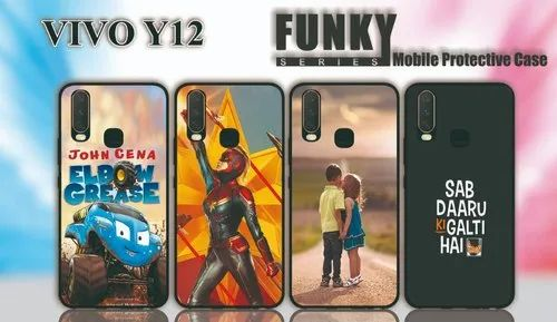 Funky Print Vivo Y 12 Mobile Cover For Personal Business Rs 30