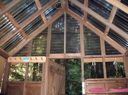 Panel Roofing Shed