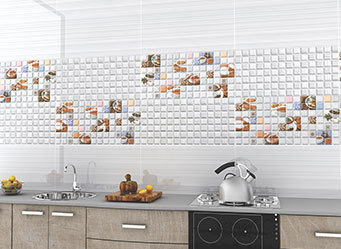 Ceramic Kitchen Vitrified Tiles, Size: 600x600 Mm, Rs 340 ...