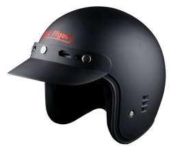 Motorcycle Helmets - Jet Flyer Sunpeak - Plain - 3 Years Warranty