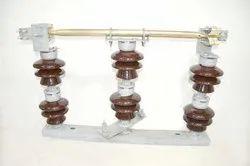 Double Stack Rotating Porcelain Isolator 11/22/33KV