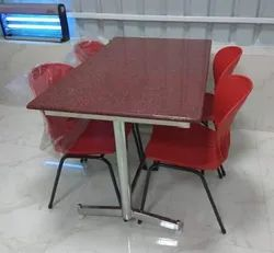 Granite Top Dining Table with Chair