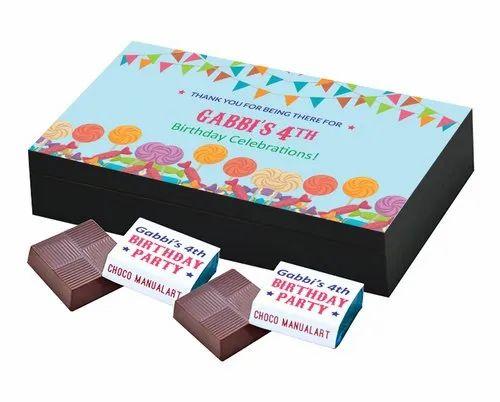 Personalised Birthday Chocolate Gifts
