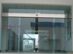 Automatic Glass Sensor Door