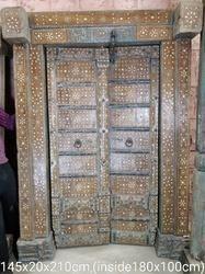 Wooden Bone Door