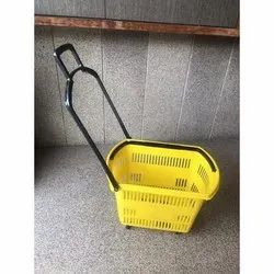 Supermarket Plastic Trolley