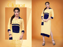 party wear rayon kurti
